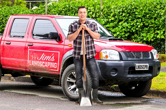 Jim_Landscaping_Truck